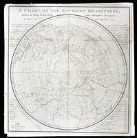 A Chart of the Southern Hemisphere
