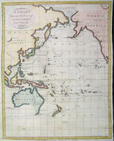 A Chart Shewing the Tract of Capt Cook's Last Voyage