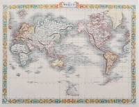 The world on Mercator's Projection